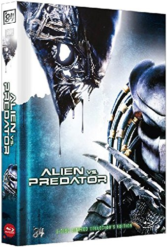Alien vs. Predator - Limited 3 Disc Collector's Mediabook Edition [Extended Version] DVD - Blu-ray [Limited Collector's Edition]