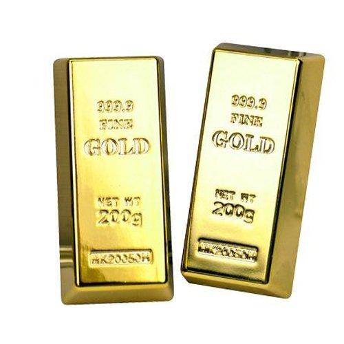 Trendhaus Trendhaus937841 Gold Bullion Cool Magnets, Mehrfarbig