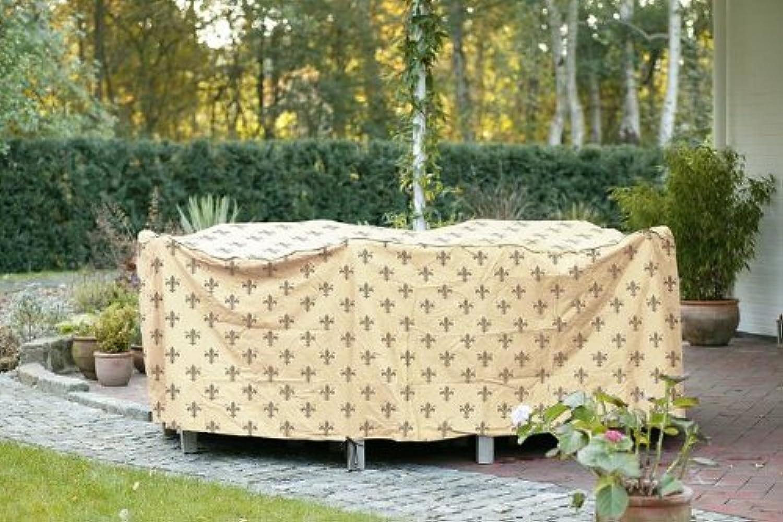 Videx 22184 Cover Lilie  Tischgruppe rechteckig 295 x 210 x 80 cm