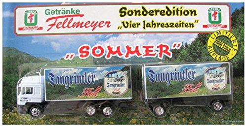 Getränke Fellmeyer Nr.03 - Sommer - Man F2000 - Hängerzug Oldie