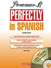 Pronounce it Perfectly in Spanish: with Audio CDs (Pronounce it Perfectly Series)
