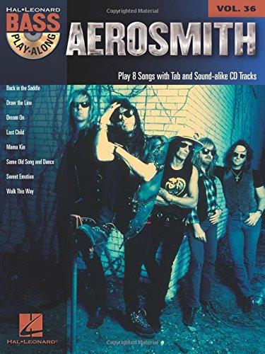 Aerosmith Bass Play-Along Vol.36 + CD
