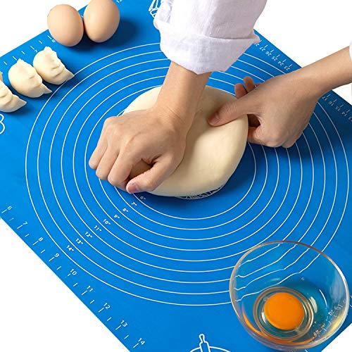 19.7''x15.8'' Non-Stick and No-Slip Silicone Baking Pastry Mat 50x40cm...