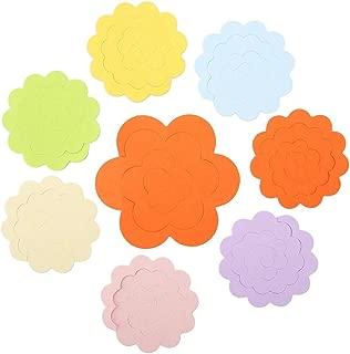 Garosa 100pcs Quilling Paper Strip Kit Colorful Floral Design Craft Paper Flower Supplies DIY Gift for in Room Wedding Party (Random Color)