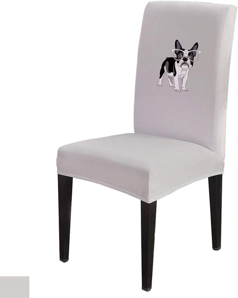 Cute Puppy Dining Free shipping anywhere in the nation Brand new Chair Cover High Armless Slipcov Seat Stretch