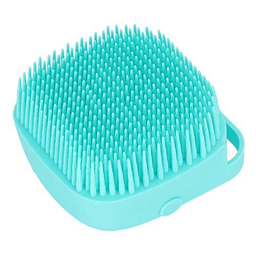 HechoVinen Multifuncional cepillo de baño para perros y gatos, cepillo de masaje para mascotas, cepillo de silicona suave, cerdas de goma para el cuidado de la ducha de perros y gatos