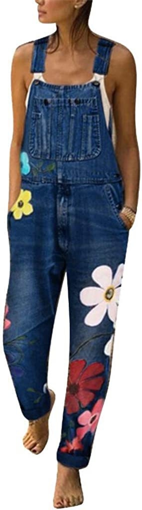 Women's Petite Relaxed Fit Baggy Jeans Casual High Waist Drawstring Straight Leg Stretch Cargo Denim Pants
