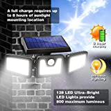 Photo #5: Solar Motion Sensor Lights by AmeriTop Featuring 800LM Wireless LED Lights 2 Pack