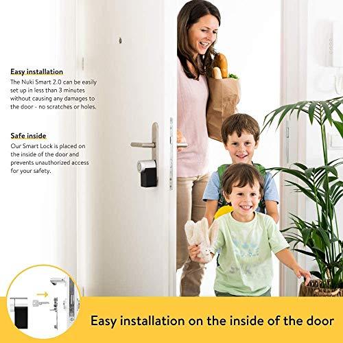 Nuki Smart Lock 2.0 – Apple HomeKit – Amazon Alexa – Google home – IFTTT – Elektronisches Türschloss - 6