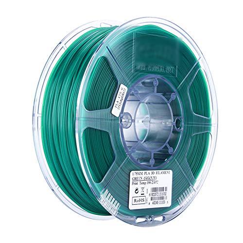 HANHAI 3D-Druckerfilament , PLA 3D-Drucker-Verbrauchsmaterial 3D-Druckstiftmaterial 1 kg 1,75 Maßgenauigkeit +/- 0,02 mm PLA 1.75 Green 1KG
