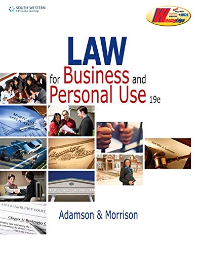 Law for Business and Personal Use (DECA)