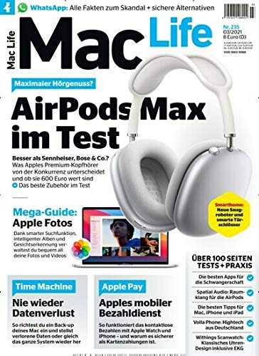 "Mac Life 3/2021 ""AirPodsMax im Test\"""
