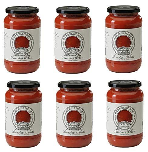 Azienda Agricola Prunotto Mariangela - Pomodori Pelati Biologici g. 550 - 6 vasi da 550 g (6x550g)