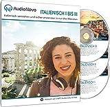 AudioNovo Italienisch I–III für Anfänger und Fortgeschrittene: Schnell und einfach Italienisch lernen (Audio-Sprachkurs 42Std; iOS und Android App inklusive) -