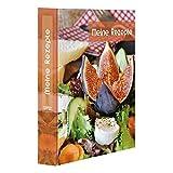 PRICARO Archivador de recetas, tamaño A5, diseño de salada