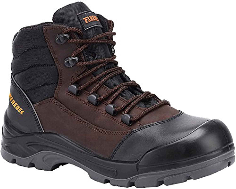 Paredes SP5042 NE-MA47 Safety shoes  Hammer  S3, Size 12, brown black - EN safety certified