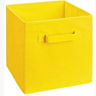 zyl Panier de Rangement Pliant boîte de Rangement en Tissu Non tissé Placard Cubes bacs Organisateur Enfant Jouet bacs de ...