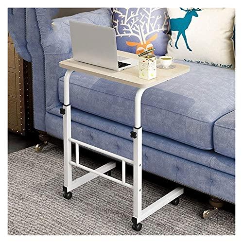 Height Adjustable Laptop Desk Solid-Top Height Adjustable Mobile Laptop Desk Cart Ergonomic Table Home Bedside Laptop Overbed Table