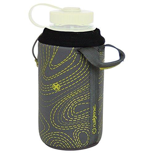 Nalgene Kunststoffflaschen Flaschentasche Neopren Trinkflasche, Grau, One size