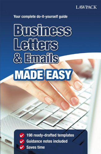 Business Letters & Emails Made Easy (English Edition)