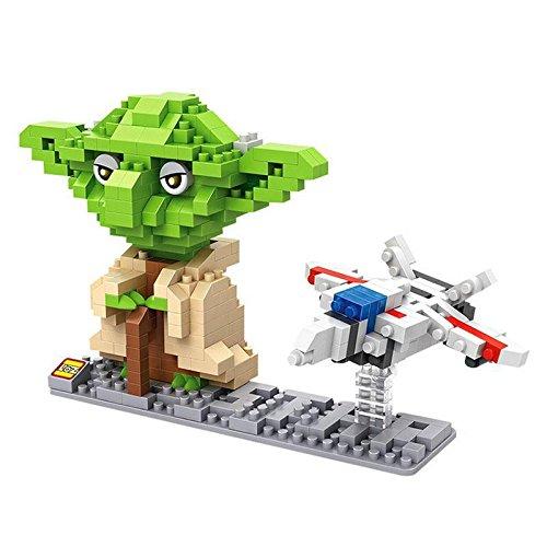 LOZ Star Wars Diamond Nano-Block(mini blocks) 2 pc set - Yoda & Fighter with Box! by Let them Be Little