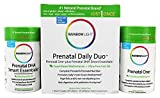 Rainbow Light - Prenatal Daily Duo, Prenatal One and Prenatal DHA 30 Tablets and 30 Softgels, 1 Month Supply