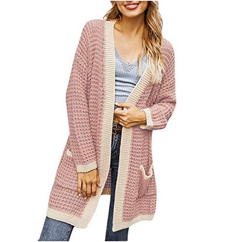 Damen Jacke Mode Frauen Tops Langarm...
