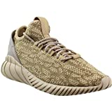 adidas Mens Tubular Doom Sock Lace Up Sneakers Shoes Casual - Brown - Size 10.5 D