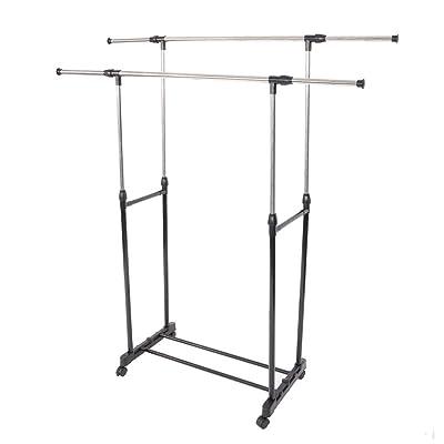 Dual-bar Vertical  Horizontal Stretching Stand ...