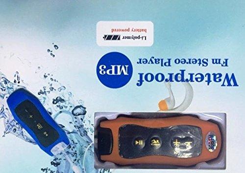 FM RADIO MUSICA MP3 PLAYER DA 8GB WATERPROOF IMPERMEABILE PISCINA NUOTO