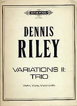 Variations II: Trio for Violin, Viola and Violoncello