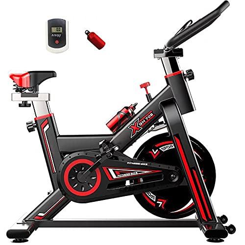 Bicicleta De Ejercicios, Bicicleta De Entrenamiento En Bicicleta, Bicicleta En Bicicleta Para Volantes, Bicicleta De Ciclismo Interior, Bicicleta De Entrenamiento De Cardio En Casa ( Color : Black )
