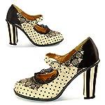 Hot Chocolate Design Chocolaticas High Heels Women's Mary Jane Pumps 7
