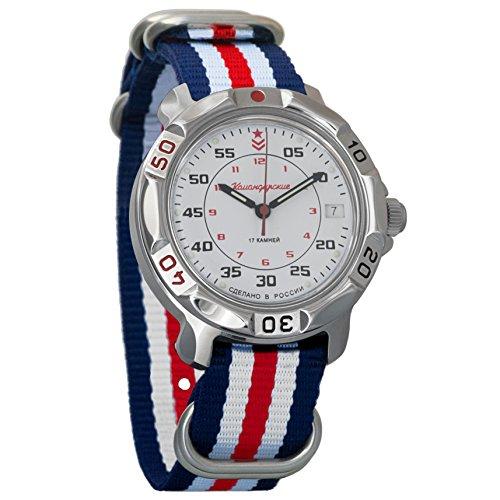 Vostok Komandirskie #811171 - Reloj de pulsera para hombre,...