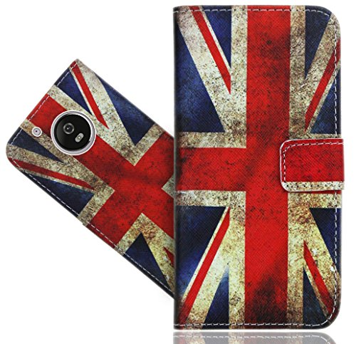 Moto G5 Handy Tasche, FoneExpert® Wallet Case Flip Cover Hüllen Etui Hülle Ledertasche Lederhülle Schutzhülle Für Lenovo Moto G5