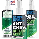 Bitter Apple Spray for Dogs Anti Chew Spray Deterrent Training Treatment Stop Biting & Chewing Spray for Dogs Puppies Cats & Kittens Alcohol Free & Non Toxic Chew Repellent Formula Made in the USA 8oz