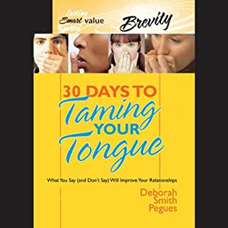 30 Days to Taming Your Tongue audiobook cover art