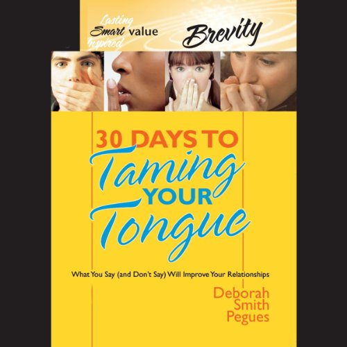 30 Days to Taming Your Tongue cover art