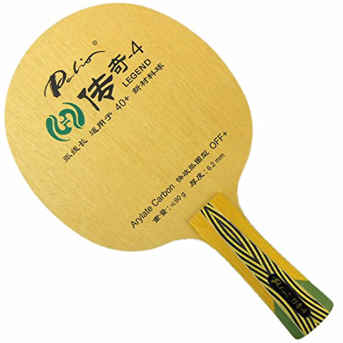 Why Should You Buy Palio Legend-4 WITH 5 Wooden and 2 Arylate Carbon OFF+ FL Table Tennis Blade