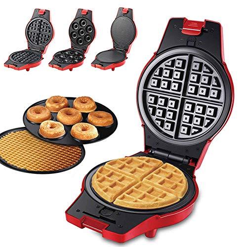 Wafelijzer Machine, Wafelijzer, Elektrische Cake Maker voor Pannenkoeken Koekjes Eierwafels Cake Machine Wafel Bakker