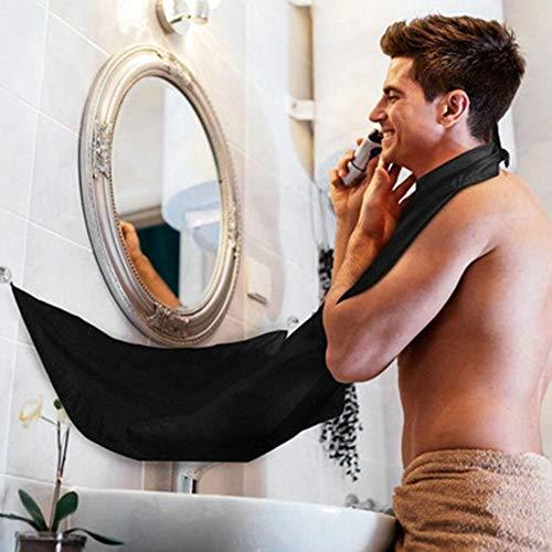 Mannen baard schort - Grote baard scheer schort Cape voor Home Salon, Baardvanger voor het trimmen van trimkappen