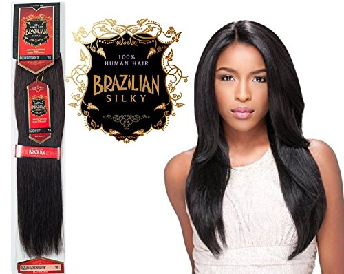 Extension de Cabello Brazilian 18' 100% Humano Natural Mas de 10 Colores.