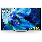 ソニー 55V型 有機ELパネル 地上・BS・110度CSデジタル4K対応テレビ(別売USB HDD録画対応)Android TV 機能搭載BRAVIA KJ-55A8G