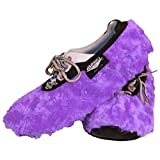 Brunswick Bowling Products Master Fuzzy Lavendar Ladies Shoe Covers- Large