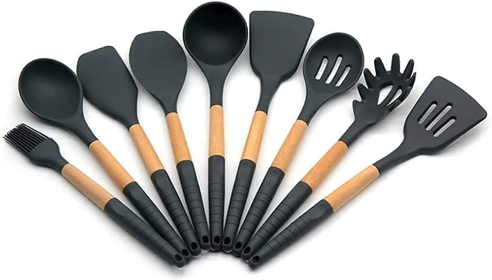 VVlight Kitchen Tools Silicone Cheap mail order shopping Utensil Max 61% OFF Cooking Utensils