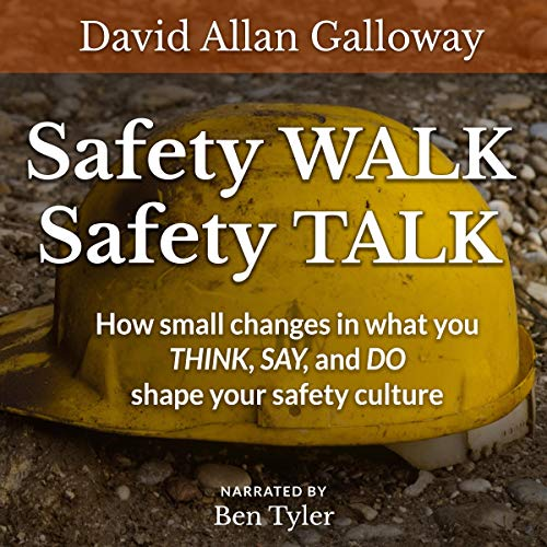 Safety Walk Safety Talk audiobook cover art