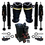 Suncore 53F-47-4 Air Suspension System Incl. Air Spring Bags Solenoids Front Air Shocks Re...