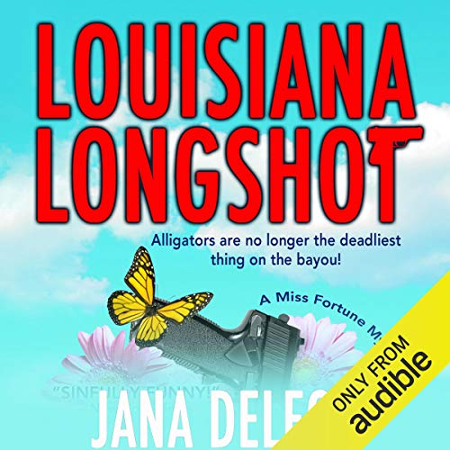 Louisiana Longshot audiobook cover art