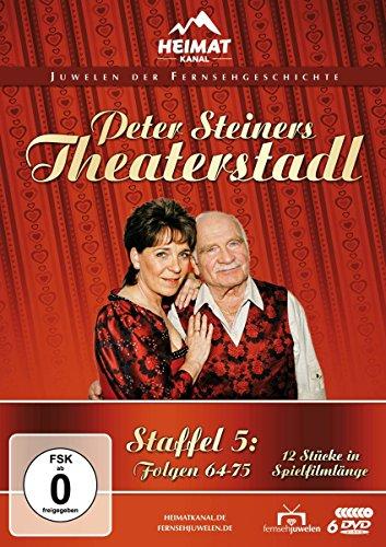 Peter Steiners Theaterstadl - Staffel 5: Folgen 64-75 (6 DVDs)