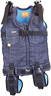 Firefly by Leckey Upsee Mobility Device – Mobility Harness for Children with Motor Impairments - Blue, Medium